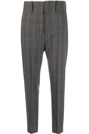 Isabel Marant Chequered suit trousers - Grey