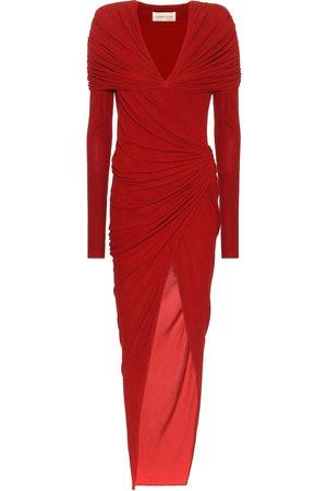 ALEXANDRE VAUTHIER Asymmetric jersey dress