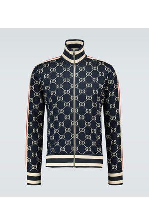 Gucci Men Jackets - GG jacquard zipped jacket