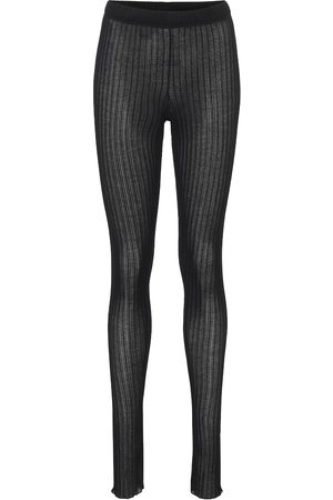 Jil Sander Ribbed-knit leggings