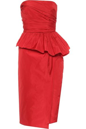 Max Mara Matteo taffeta midi dress