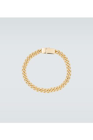 TOM WOOD Rounded curb -plated bracelet