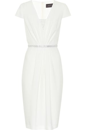 Max Mara Acerbo crystal-embellished dress