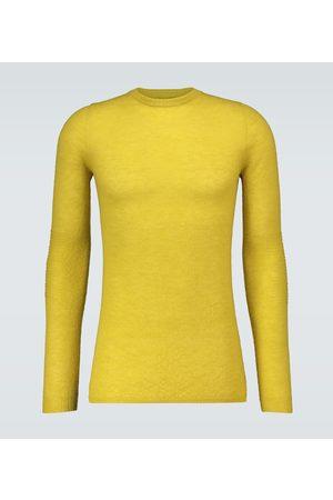 Rick Owens Crewneck mohair-blend sweater