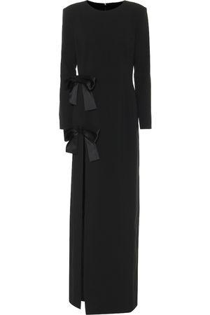 Saint Laurent Sablé gown