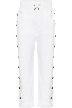 Balmain Cotton trackpants