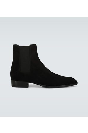 Saint Laurent Wyatt Chelsea boots