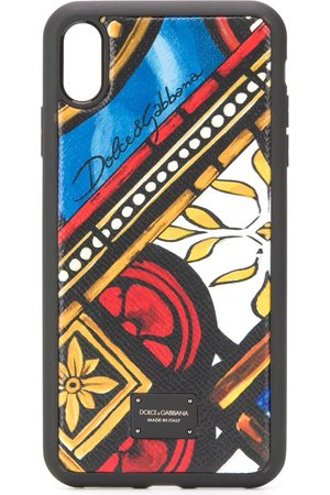 Dolce & Gabbana Tile print iPhone XS Max case