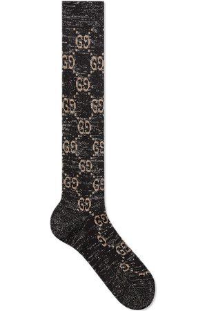 Gucci Lurex GG-print socks