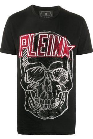 Philipp Plein Sequinned skull T-shirt