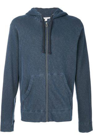 James Perse Men Hoodies - Jersey zip hoodie