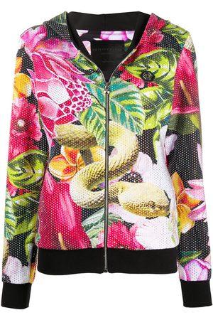Philipp Plein Garden of Eden printed hoodie