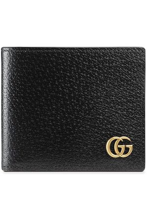 Gucci Men Wallets - GG Marmont leather bi-fold wallet