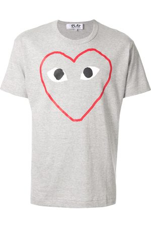 Comme des Garçons Play logo T-shirt - Grey