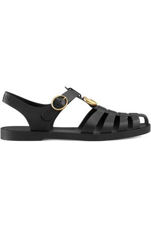Gucci Men Sandals - Rubber buckle strap sandals