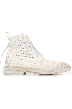 MARSÈLL Women Ankle Boots - Woven ankle boots