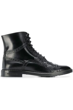 Dolce & Gabbana Men Ankle Boots - Lace-up ankle boots