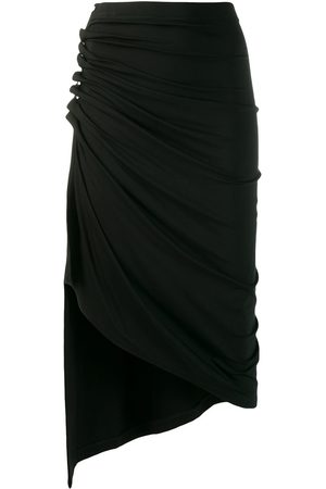 Paco rabanne Women Asymmetrical Skirts - Ruched asymmetric skirt