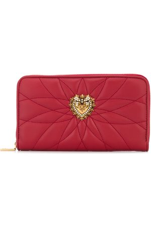 Dolce & Gabbana Devotion continental zipped wallet