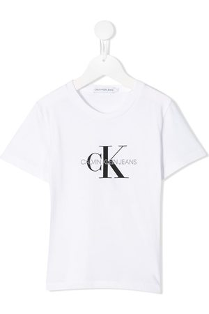 Calvin Klein Kids Logo print T-shirt