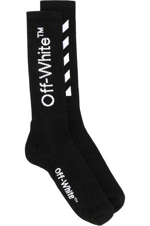 OFF-WHITE Mid-length logo socks
