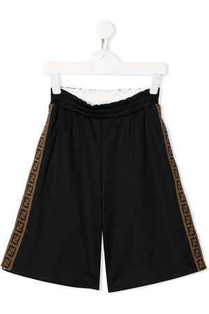 Fendi FF trim shorts