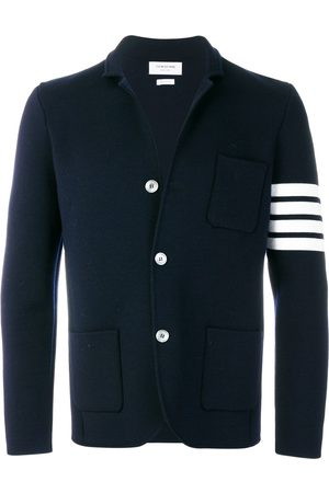 Thom Browne Men Blazers - 4-bar Merino Sport Coat