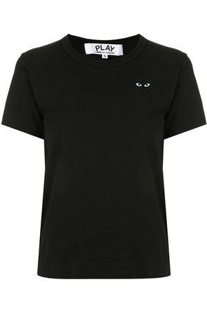 Comme des Garçons Heart embroidered slim fit T-shirt