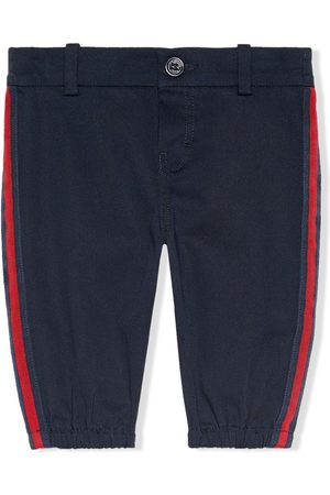 Gucci Chinos - Side stripe trousers