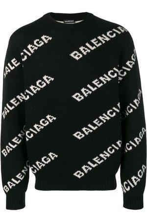 Balenciaga All-over logo jumper