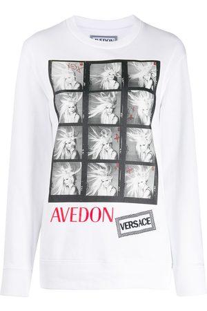VERSACE Women T-shirts - Avedon photo print T-shirt