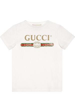 Gucci Girls T-shirts - Children's cotton T-shirt with Gucci logo