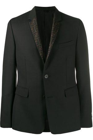 Fendi Men Blazers - Reversible FF blazer