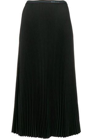 Prada Women Midi Skirts - Pleated midi skirt