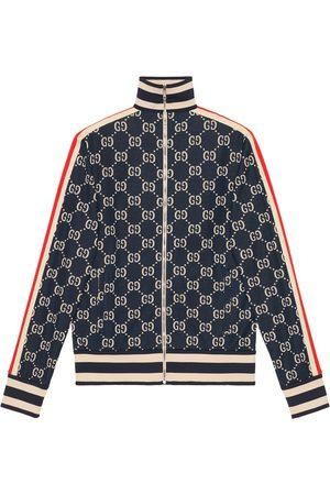 Gucci Men Outdoor Jackets - GG jacquard cotton jacket
