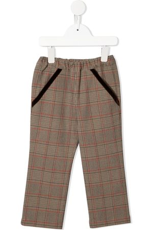 Familiar Girls Pants - Checked trousers