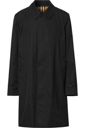 Burberry Men Trench Coats - Cotton Gabardine Car Coat