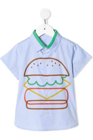 Familiar Burger print shirt