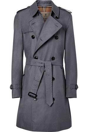 Burberry Chelsea Heritage midi trench coat - Grey