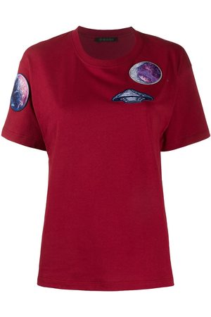Mr & Mrs Italy Multi-patch crew-neck T-shirt
