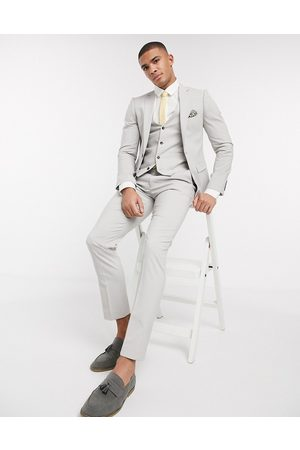 Harry Brown Skinny fit plain suit jacket