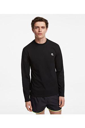 Karl Lagerfeld Men Long Sleeve - Ikonik Long Sleeve T-Shirt