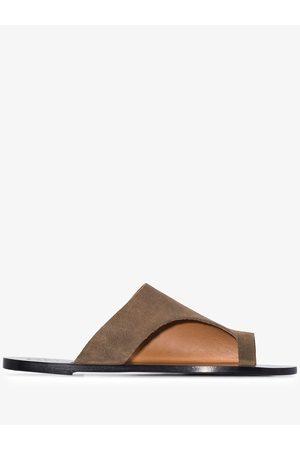 ATP Atelier Rosa suede sandals