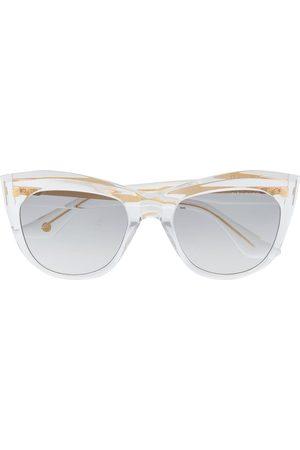 DITA EYEWEAR Kader square-frame sunglasses - Neutrals