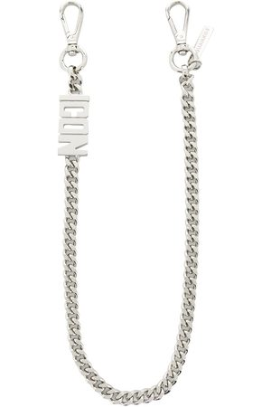 Dsquared2 Men Keychains - ICON faceted chain keyring
