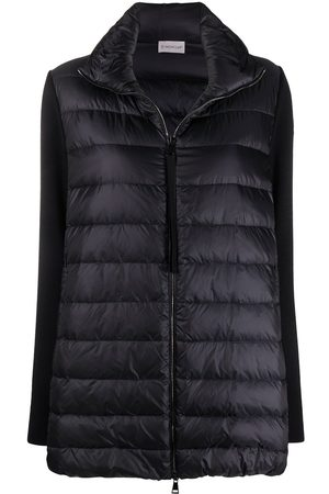 Moncler Logo-patch padded coat