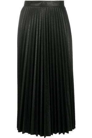 MM6 MAISON MARGIELA Women Midi Skirts - Pleated midi skirt