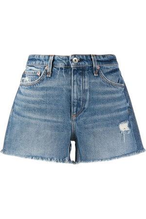 RAG&BONE Mid-rise denim shorts