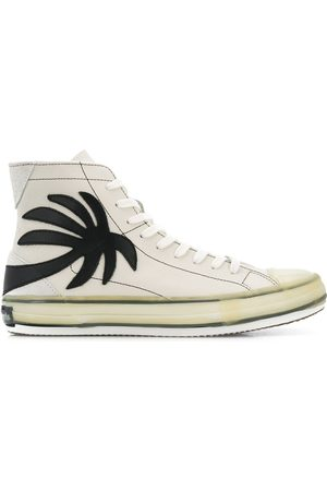 Palm Angels Palm tree high-top sneakers
