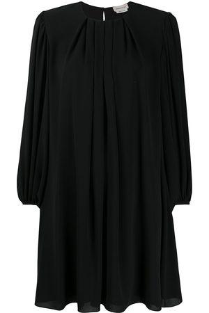 Alexander McQueen Pleated shift dress